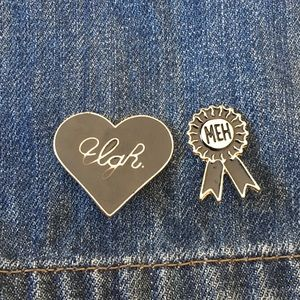 Meh and ugh pin set